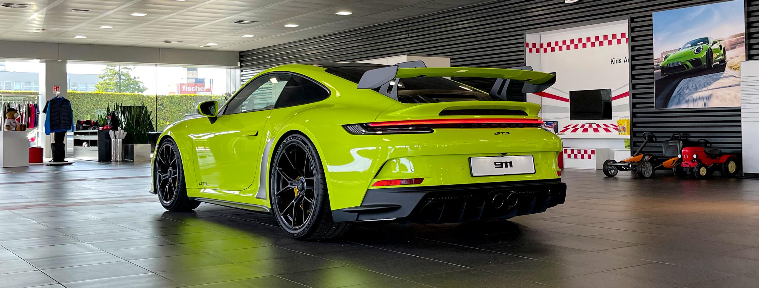 La nuova Porsche 911 GT3.