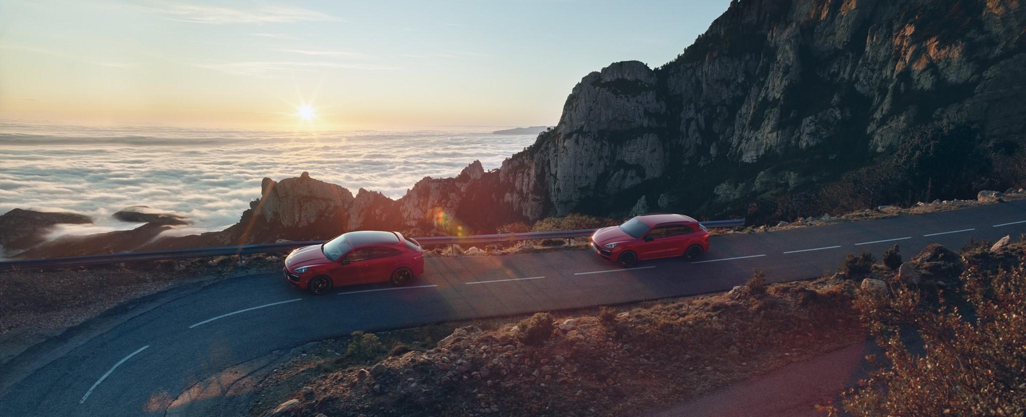 I nuovi modelli Cayenne GTS