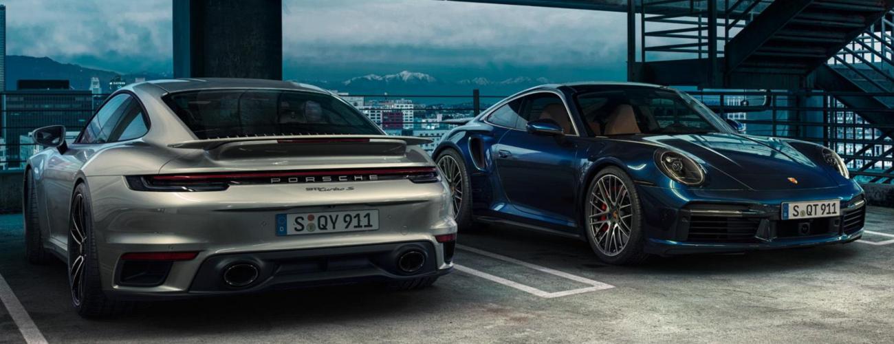 Nuovi modelli 911 Turbo.