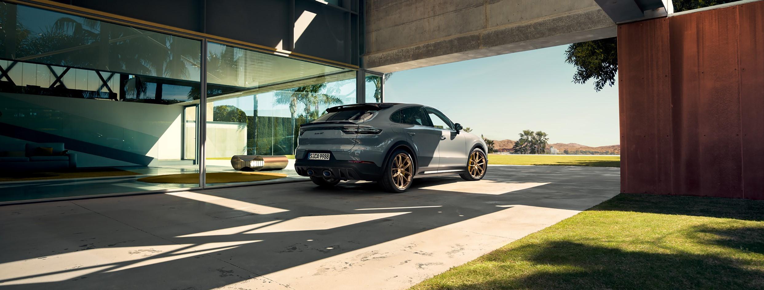La nuova Cayenne Turbo GT.