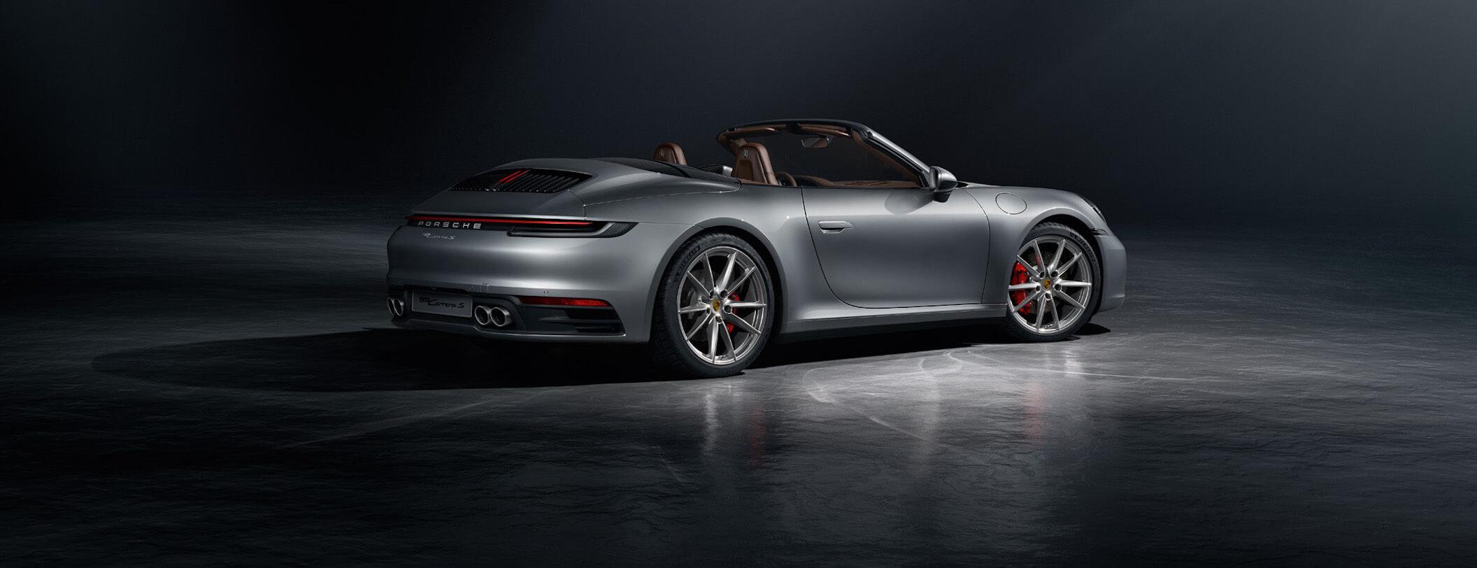 La nuova 911 Cabriolet.