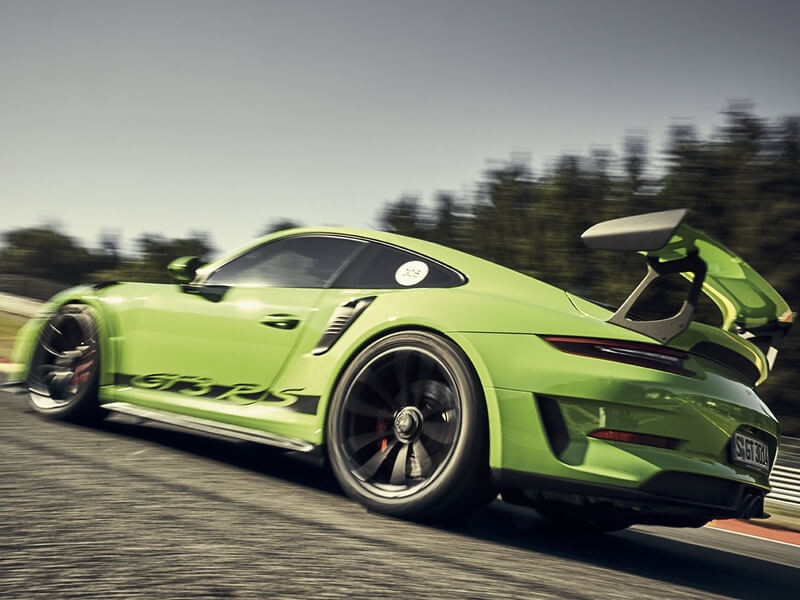 Porsche Experience Italia.