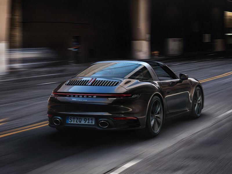 Nuova 911 Targa 4S.