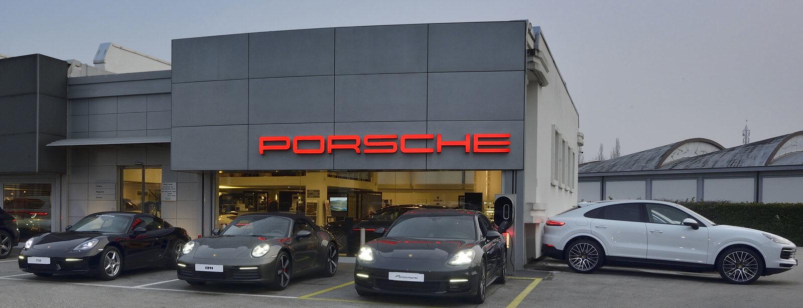 Centro Porsche Treviso.