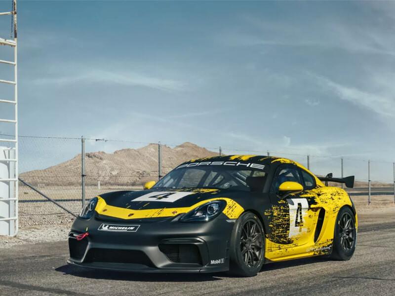 La nuova Cayman GT4 Clubsport
