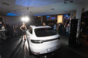 Gallery presentazione nuova Porsche Macan.
