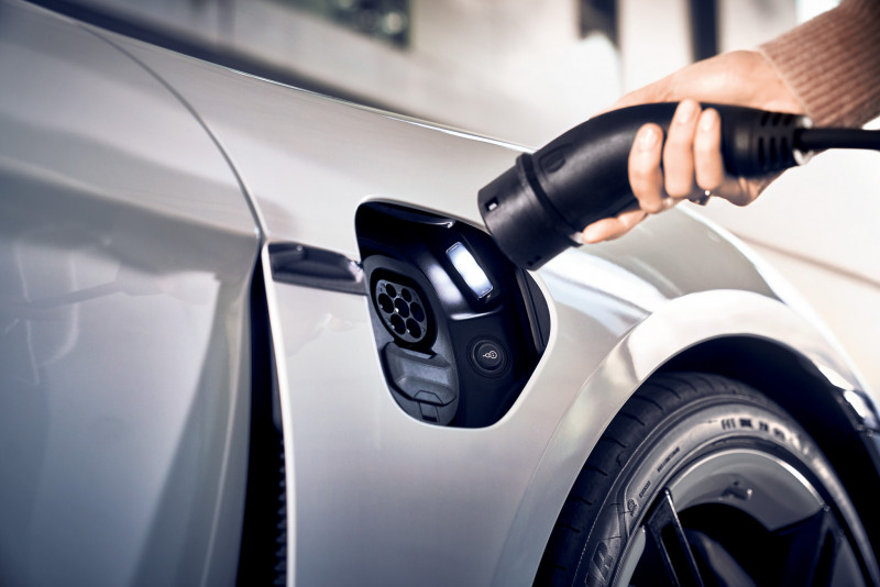 Porsche Destination Charging.