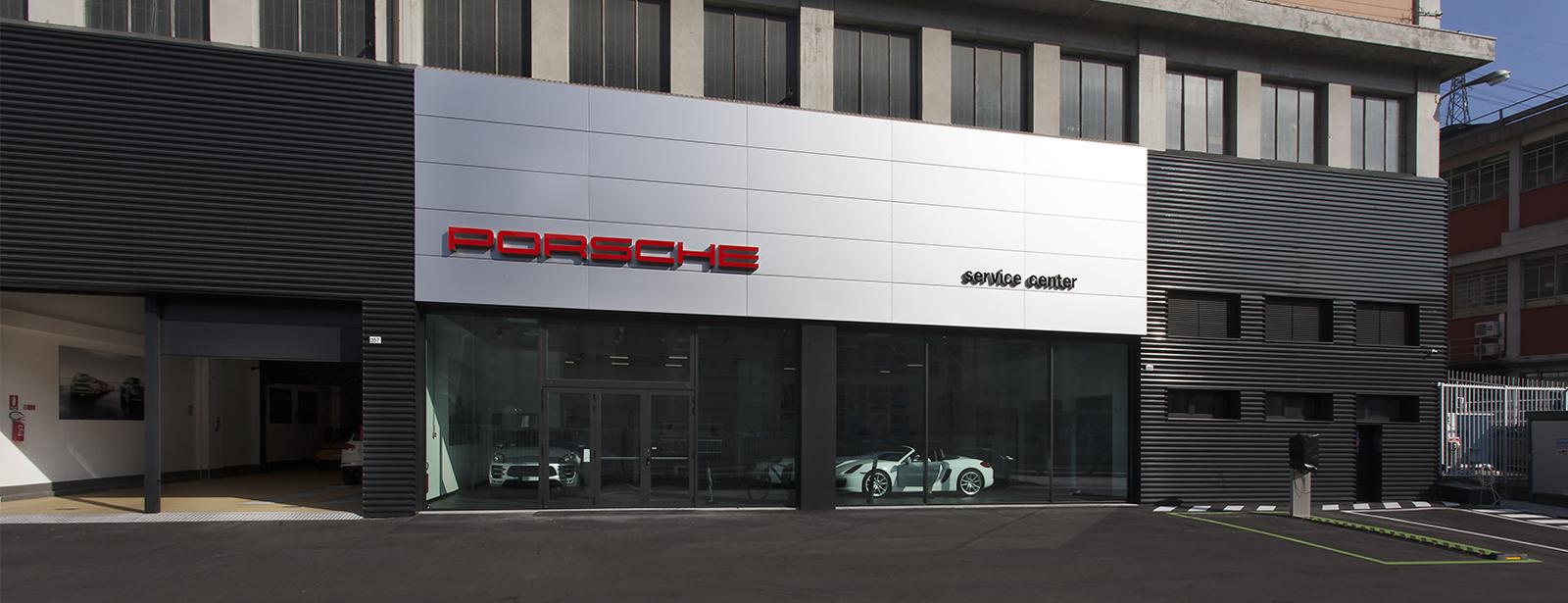 Centro Assistenza Porsche Genova.
