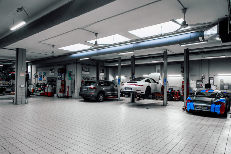Accessori invernali di Porsche Tequipment