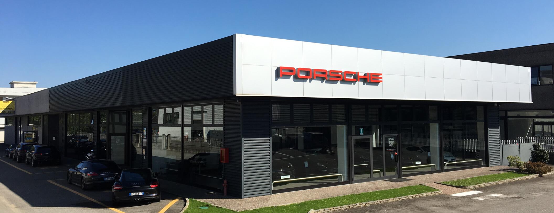 Centro Assistenza Porsche Novara.