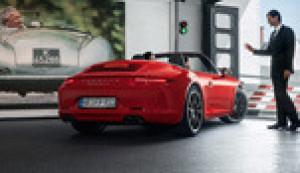 Courtesy Car Porsche